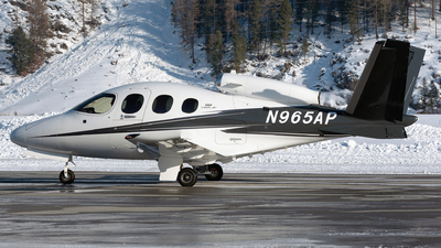 N965AP - Cirrus Vision SF50 G2 - Cirrus Design Corporation