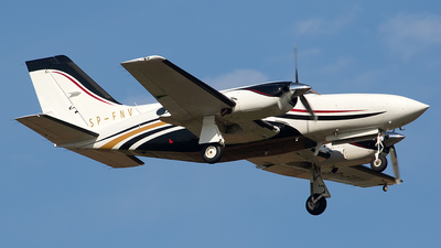 SP-FNV - Cessna 421C Golden Eagle - Private