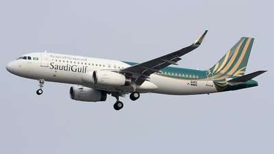 F-WWBH - Airbus A320-232 - SaudiGulf Airlines