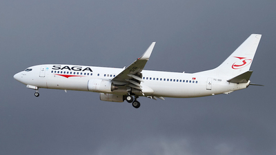 TC-SGI - Boeing 737-86J - Saga Airlines