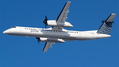 A picture of CGKQF - De Havilland Canada Dash 8400 - Porter Airlines - © RZ