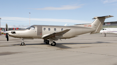 LX-JFN - Pilatus PC-12/47 - JetFly Aviation