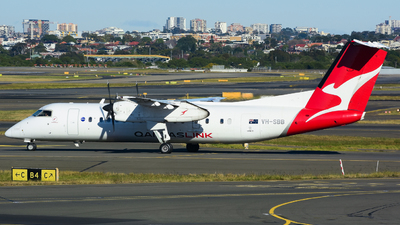 VH-SBB - Bombardier Dash 8-Q311 - QantasLink (Sunstate Airlines)