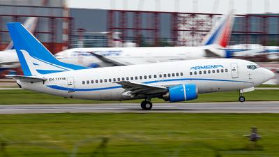 EK-73736 - Boeing 737-505 - Armenia Aircompany