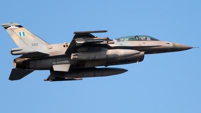 022 - Lockheed Martin F-16DJ Fighting Falcon - Greece - Air Force
