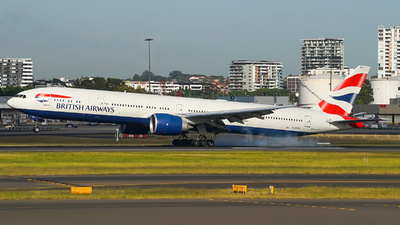 G-STBD - Boeing 777-36NER - British Airways