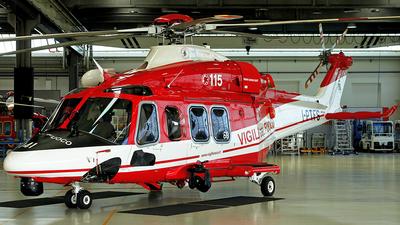 I-PTFS - Agusta-Westland AW-139 - Italy - Vigili del Fuoco