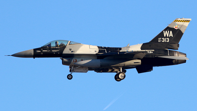 87-0313 - General Dynamics F-16C Fighting Falcon - United States - US Air Force (USAF)