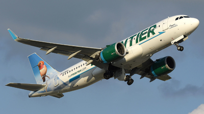 A picture of N318FR - Airbus A320251N - Frontier Airlines - © DJ Reed - OPShots Photo Team