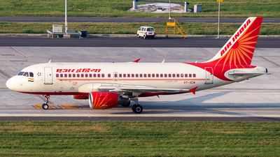 A picture of VTSCM - Airbus A319112 - Air India - © Sandeep Pilania