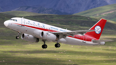A picture of B6173 - Airbus A319133 - Sichuan Airlines - © cmqmc