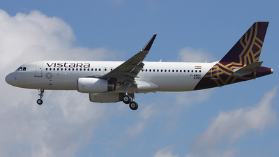 F-WWDX - Airbus A320-232 - Vistara