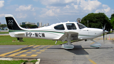 A picture of PPMCM - Cirrus SR22 - [3809] - © Jean Lucas / Brothers Spotting