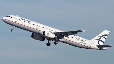 A picture of SXDNH - Airbus A321231 - Aegean Airlines - © Oksana