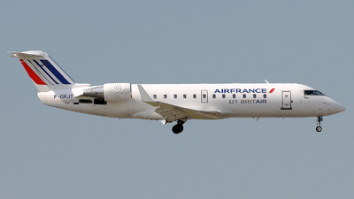 F-GRJT - Bombardier CRJ-100ER - Air France (Brit Air)