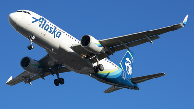 A picture of N364VA - Airbus A320214 - Alaska Airlines - © Michael Rodeback
