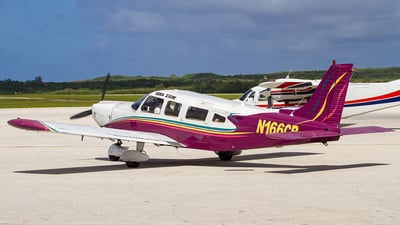 N166CB - Piper PA-32-300 Cherokee Six - Private