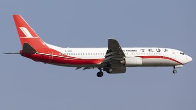 A picture of B5145 - Boeing 7378Q8 - Shanghai Airlines - © jehrenstoneman