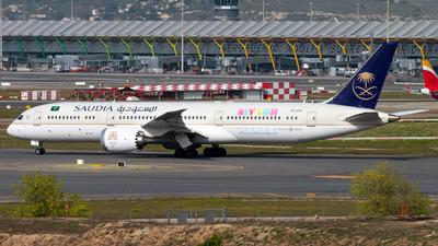 A picture of HZARC - Boeing 7879 Dreamliner - Saudia - © Juan Manuel Gibaja