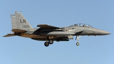 97-0222 - Boeing F-15E Strike Eagle - United States - US Air Force (USAF)