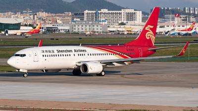 B-5357 - Boeing 737-8AL - Shenzhen Airlines