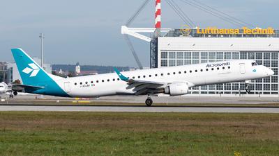 A picture of IADJM - Embraer E195LR - Air Dolomiti - © Thomas Ernst