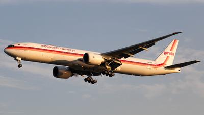 PK-GIK - Boeing 777-3U3ER - Garuda Indonesia