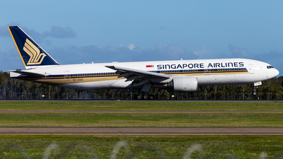 9V-SVC - Boeing 777-212(ER) - Singapore Airlines