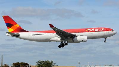N974AV - Airbus A330-243 - Avianca