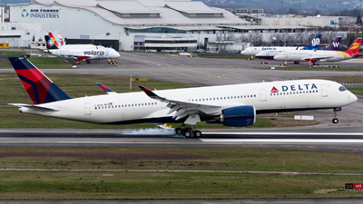 F-WZFH - Airbus A350-941 - Delta Air Lines
