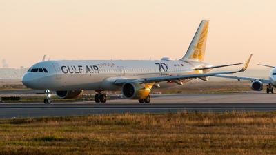 A9C-NC - Airbus A321-253NX - Gulf Air