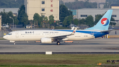 A picture of B1561 - Boeing 7378LW - Hebei Airlines - © Eric Wang