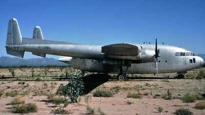 N175ML - Fairchild C-119F Flying Boxcar - Marine Lumber Company - Nantucket