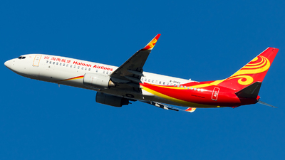 A picture of B5540 - Boeing 73784P - Hainan Airlines - © SZ4509