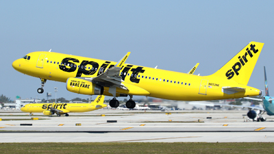 N653NK - Airbus A320-232 - Spirit Airlines