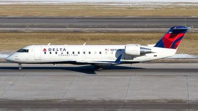 A picture of N8968E - Mitsubishi CRJ200LR - [7968] - © Jeremy D. Dando