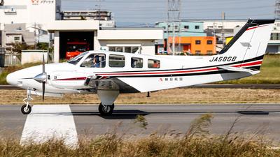 A picture of JA58GB - Beech G58 Baron - [TH2247] - © Kirifud_2003
