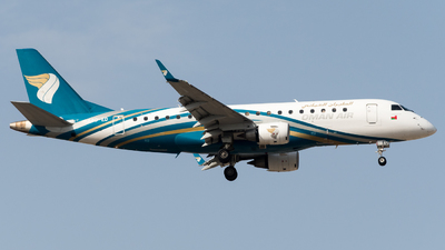 A4O-ED - Embraer 170-200LR - Oman Air