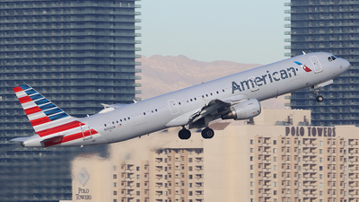 A picture of N150UW - Airbus A321211 - American Airlines - © Joshua Ruppert