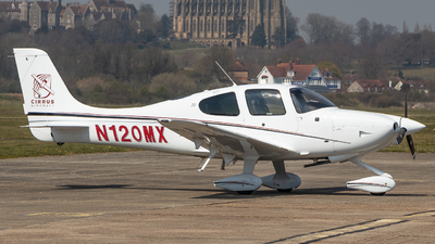 A picture of N120MX - Cirrus SR20 - [2281] - © James Dinsdale