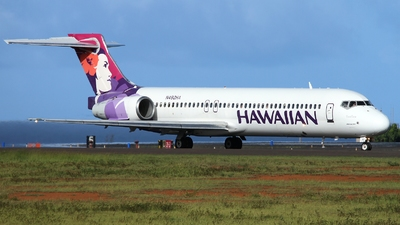 N492HA - Boeing 717-2BL - Hawaiian Airlines