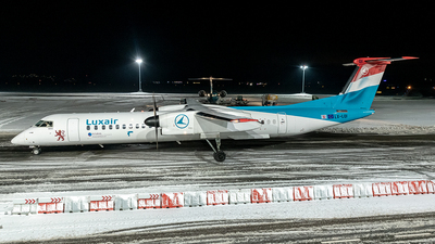 LX-LQI - Bombardier Dash 8-Q402 - Luxair - Luxembourg Airlines