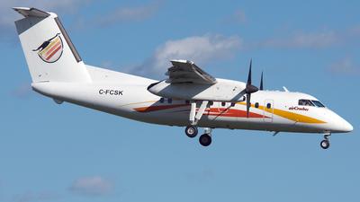 A picture of CFCSK - De Havilland Canada Dash 8100 - Air Creebec - © PAUL LINK