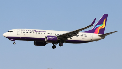 B-1325 - Boeing 737-86W - Urumqi Air