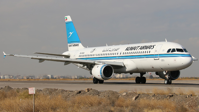 9K-AKA - Airbus A320-212 - Kuwait Airways