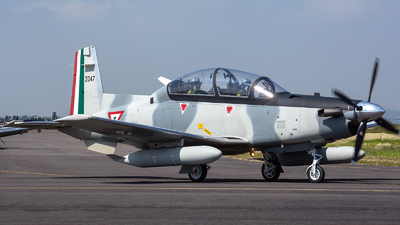 2047 - Raytheon T-6C Texan II - Mexico - Air Force