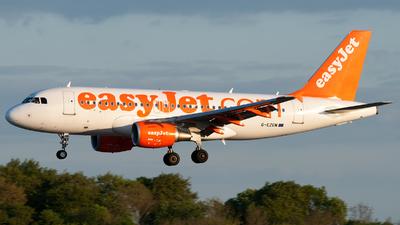 G-EZGM - Airbus A319-111 - easyJet