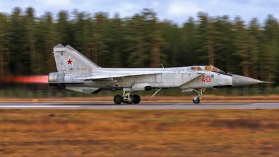 40 - Mikoyan-Gurevich MiG-31BM Foxhound - Russia - Air Force