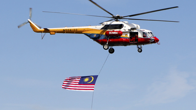 M994-03 - Mil Mi-171A Baikal - Malaysia - Fire and Rescue Services