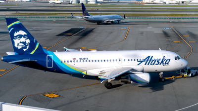 N529VA - Airbus A319-112 - Alaska Airlines